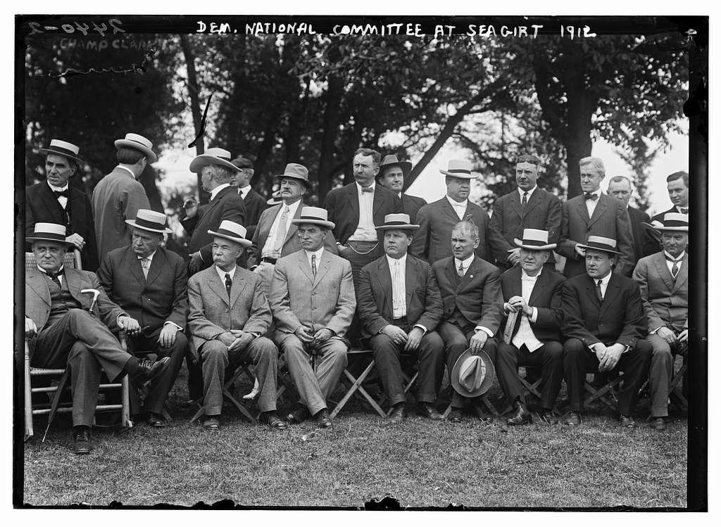 Dem. Nat'l Committee at Sea Girt, 1912