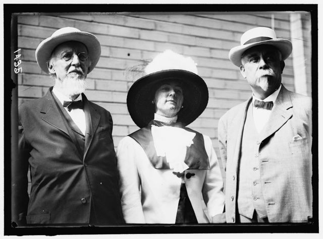 DEMOCRATIC NATIONAL CONVENTION. EX-SENATOR FRANCIS B. COCKERELL, MRS. E.B. COCKERELL, ROBERT HOGAN