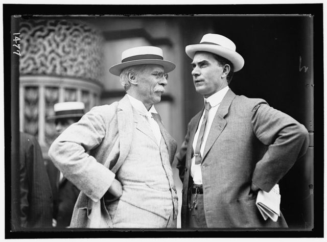 DEMOCRATIC NATIONAL CONVENTION. GEORGE W. GUTHRIE, PENNSYLVANIA STATE CHAIRMAN; REP. R. L. HENRY OF TEXAS