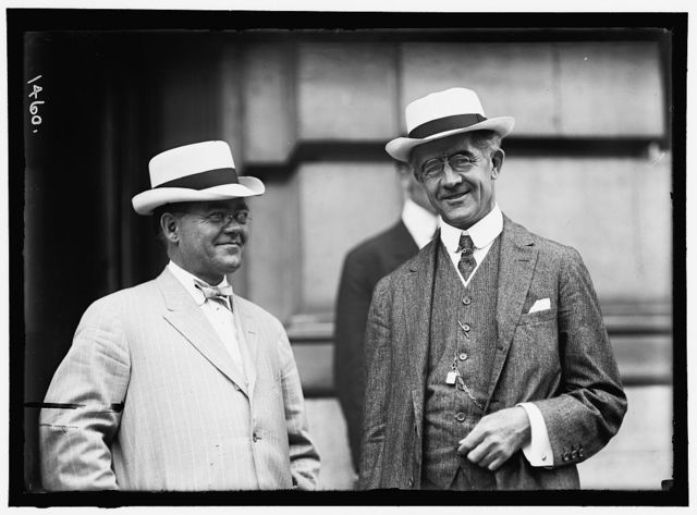 DEMOCRATIC NATIONAL CONVENTION. H.E. NEWBRANCH AND SEN. G.M. HITCHCOCK OF NEBRASKA