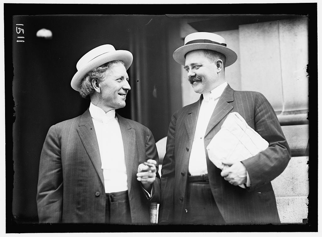 DEMOCRATIC NATIONAL CONVENTION. J.R. SMITH AND CLARK HOWELL OF GEORGIA.