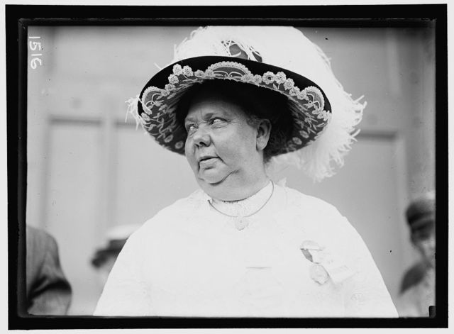 DEMOCRATIC NATIONAL CONVENTION. MRS. MAY WAKEWRIGHT [i.e. ARKWRIGHT] HUTTON, DELEGATE