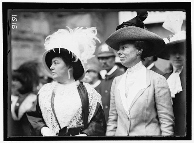 DEMOCRATIC NATIONAL CONVENTION. MRS. NORMAN E. MACK AND MRS. WILLIAM H. TAFT