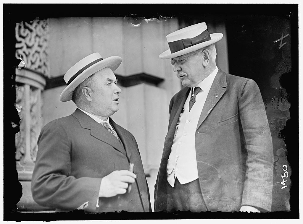 DEMOCRATIC NATIONAL CONVENTION. ROGER SULLIVAN OF ILLINOIS AND DR. P.L. HALL OF NEBRASKA