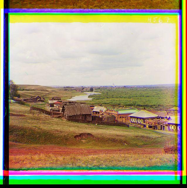 Dolina r. Iseti okolo Shadrinska s Tumanovskoĭ gory