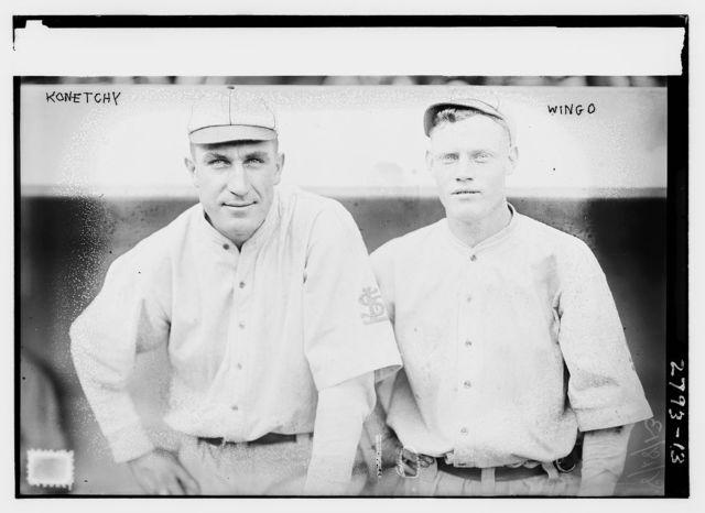 [Ed Konetchy (left) & Ivey Wingo (right), St. Louis NL (baseball)]