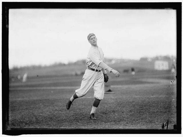 "[Elliott ""Eddie"" Dent, Washington AL, at University of Virginia, Charlottesville (baseball)]"