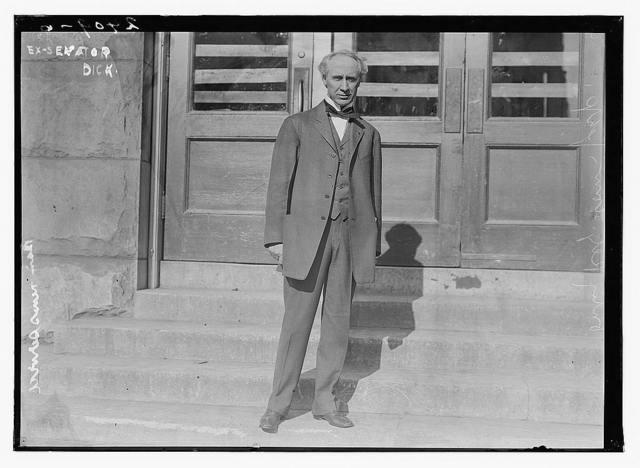 Ex-Senator [Charles W.F.] Dick