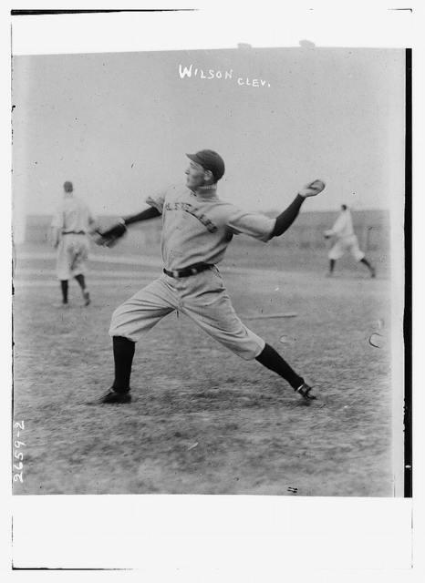 "[F.E. ""Fin"" Wilson, Cleveland AL (baseball)]"