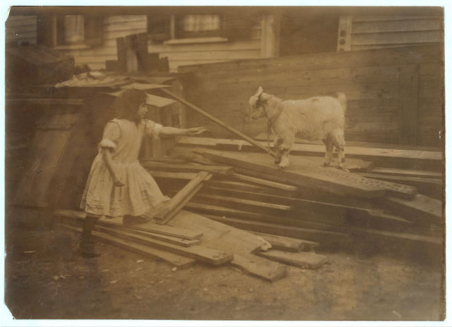 (For Child Welfare Exhibit 1912-13.) Back-yard, Spruce Street, Providence, R.I.  Location: Providence, Rhode Island.