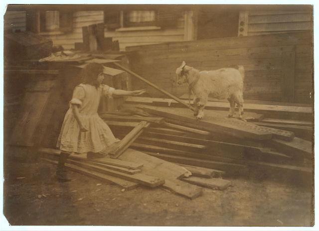 (For Child Welfare Exhibit 1912-13.) Back-yard, Spruce Street, Providence, R.I.  Location: Providence, Rhode Island.
