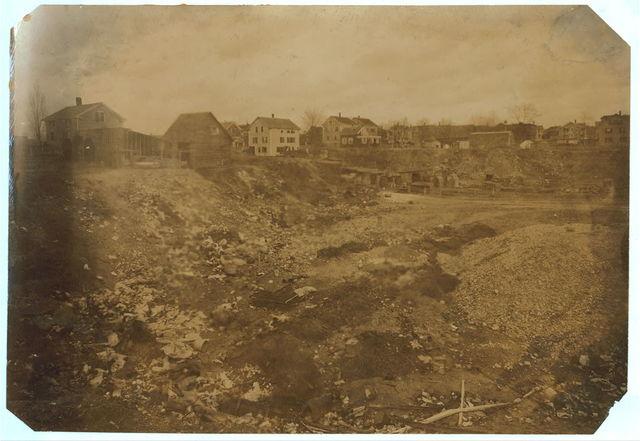 (For Child Welfare Exhibit 1912-13.) Whitman Street, dump, Pawtucket, R.I.  Location: Pawtucket, Rhode Island.