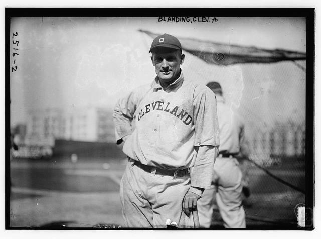 [Fred Blanding, Cleveland AL (baseball)]