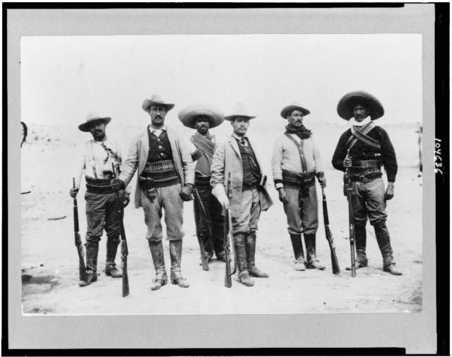[Gen. Campa and staff, Mexican War]