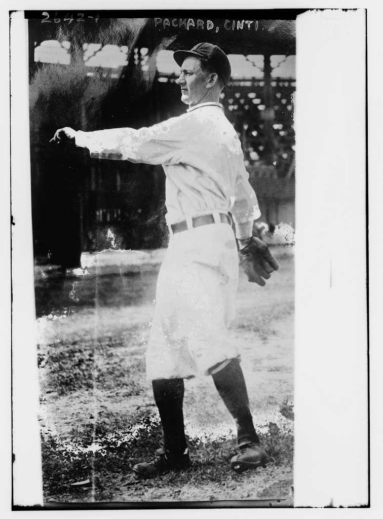 Gene Packard, Cincinnati NL (baseball)