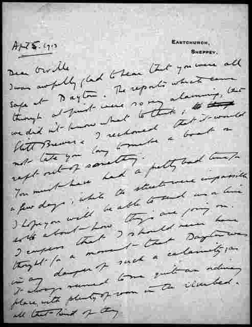 General Correspondence:  Ogilvie, Alec, 1912-1914