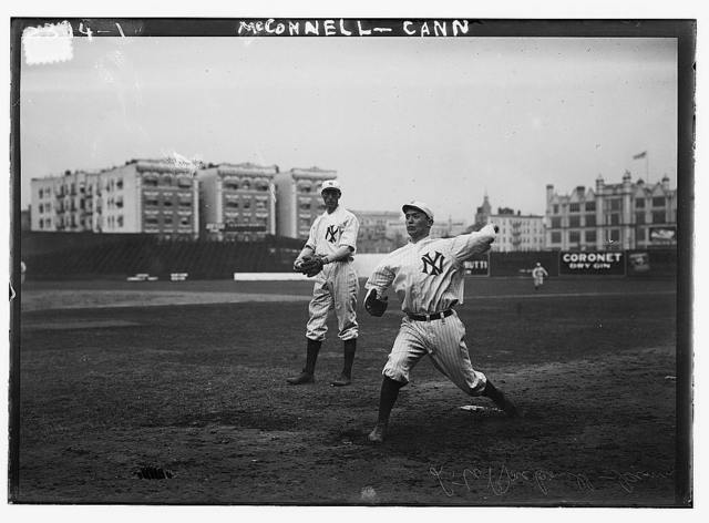 [George McConnell & Michael Cann, New York AL, at Hilltop Park, NY (baseball)]