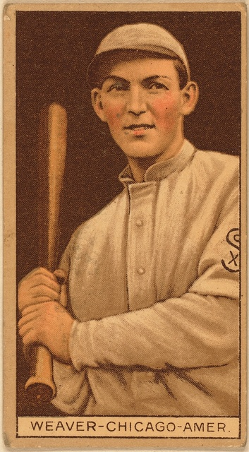 [George Weaver, Chicago White Sox, baseball card portrait]