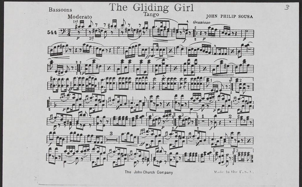 Gliding Girl