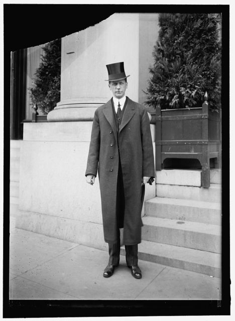 GOLDSBOROUGH, PHILLIPS LEE. GOVERNOR OF MARYLAND, 1912-1916