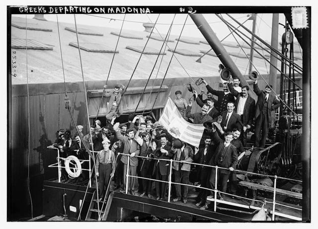 Greeks departing on MADONNA