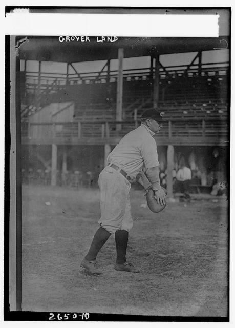 [Grover Land, Cleveland AL (baseball)]