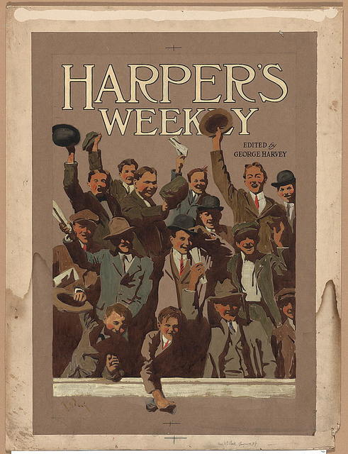 Harper's Weekly, edited by George Harvey / A.G. Peck.