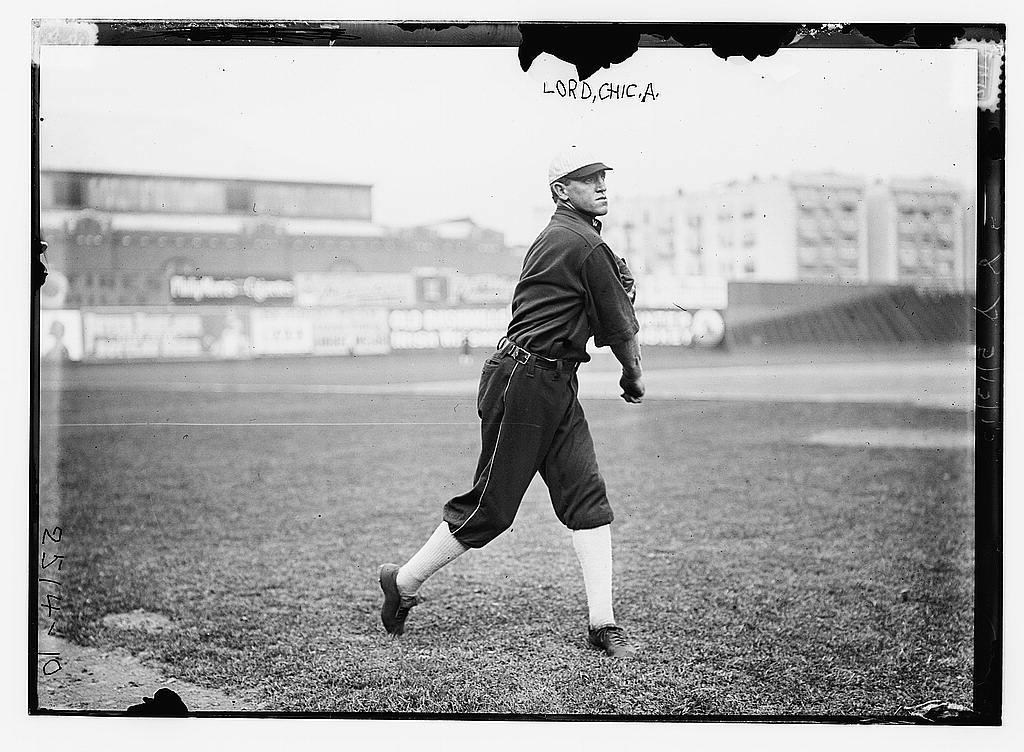 [Harry Lord, Chicago AL, at Hilltop Park, NY (baseball)]