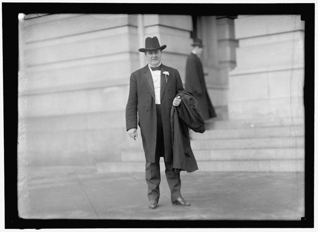 HEFLIN, J. THOMAS. REP. FROM ALABAMA, 1904-1920; SENATOR, 1920-