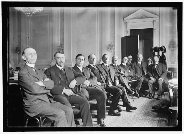 HOUSE OF REPRESENTATIVES. COMMITTEES. SPECIAL SUBCOMMITTE OF BANKING AND CURRENCY TO INVESTIGATE 'MONEY TRUSTS,' KNOWN AS 'PUJO COMMITTEE.' McMORRAN OFMI; HAYES OF CA; NEELEY OF KS; GUERNSEY OF ME; PUJO OF LA, CHAIRMAN; DAUGHTERY OF MO; BYRNES OF SC; A CLERK; HEALD OF DE; A CLERK; SAMUEL