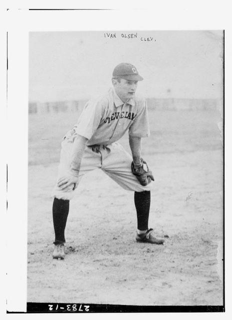 "[Ivan ""Ivy"" Olson, Cleveland AL (baseball)]"