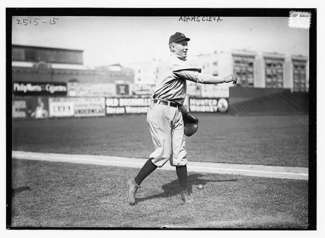 [Jack B. Adams, Cleveland AL (baseball)]