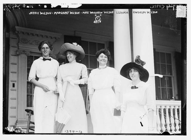 Jessie Wilson, Margaret Wilson, Mrs. Woodrow Wilson, Eleanor Randolph Wilson