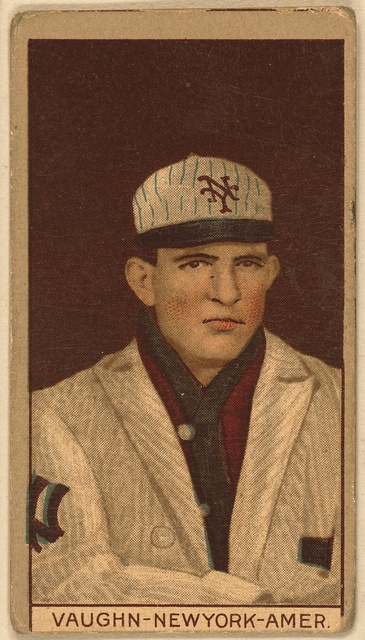 [Jim Vaughn, New York Highlanders, baseball card portrait]