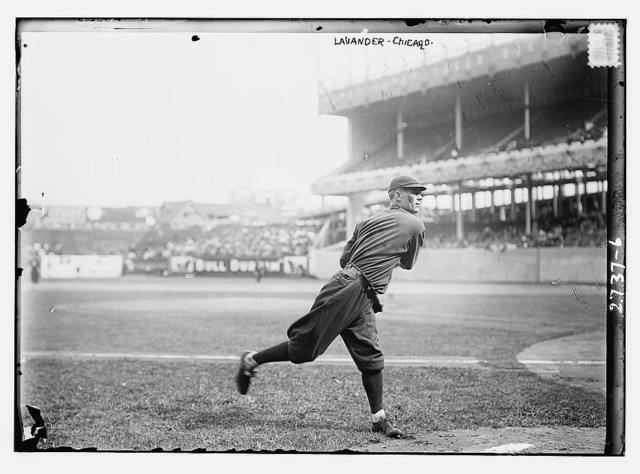 [Jimmy Lavender, Chicago NL, at Polo Grounds, NY (baseball)]