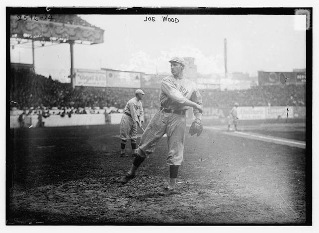 [Joe Wood, Boston AL, at Polo Grounds, NY, during World Series (baseball)]