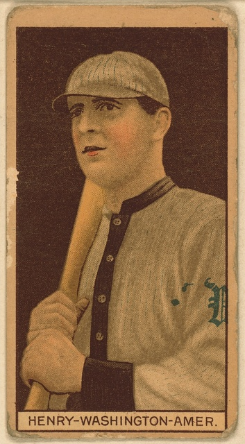[John Henry, Washington Nationals, baseball card portrait]