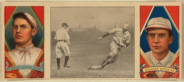Joe Wood Boston Red Sox Baseball Card Portrait Picryl