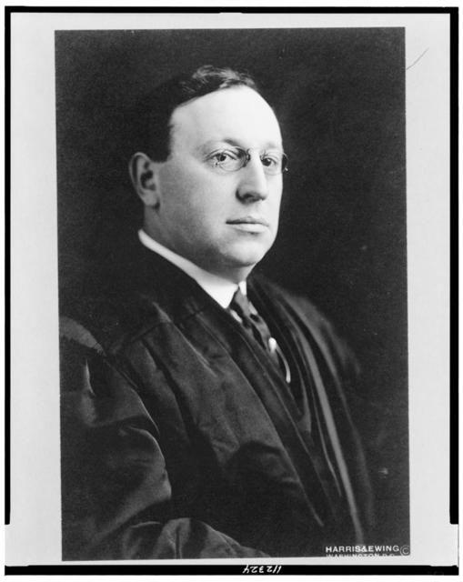 [Judge Julian William Mack, half-length portrait, facing right]