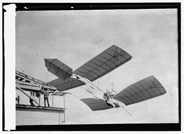 Labor Langley plane on lot?