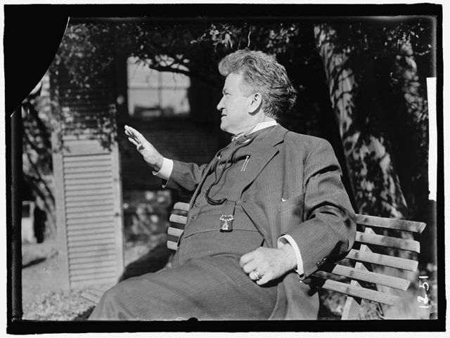 LAFOLLETTE, ROBERT M. REP. FROM WISCONSIN 1885-1891; GOVERNOR, 1901-1906; SENATOR, 1906-1925