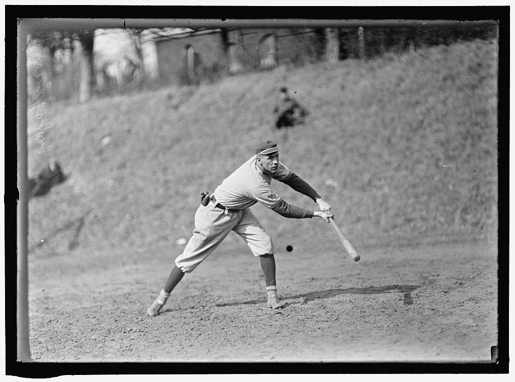 "[""Long"" Tom Hughes, Washington AL, at University of Virginia, Charlottesville (baseball)]"