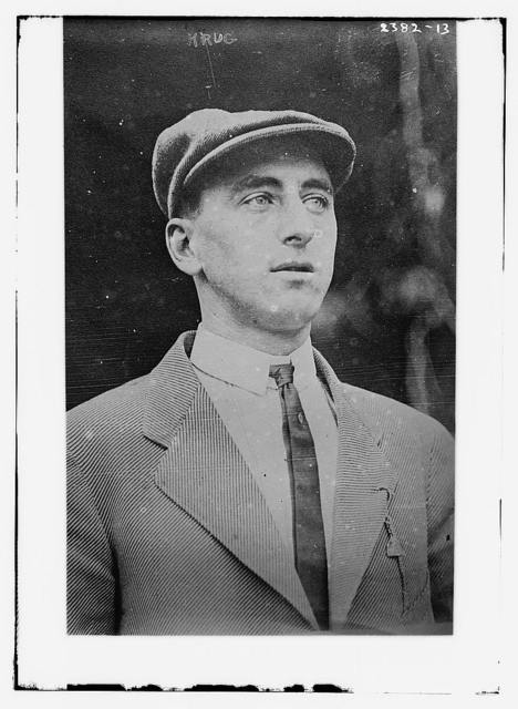 [Marty Krug, infielder with the Boston Red Sox (baseball)]