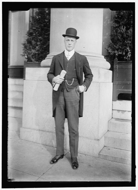ODDIE, TASKER LOWNDES. GOVERNOR OF NEVADA, 1911-1915; SENATOR, 1921-1933