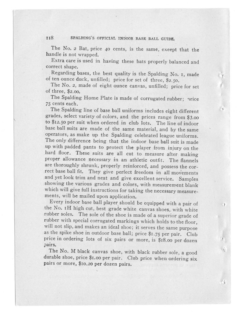 Official indoor base ball guide containing the constitution, 1912