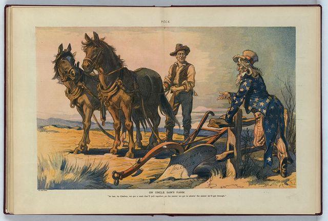 On Uncle Sam's farm / Keppler.