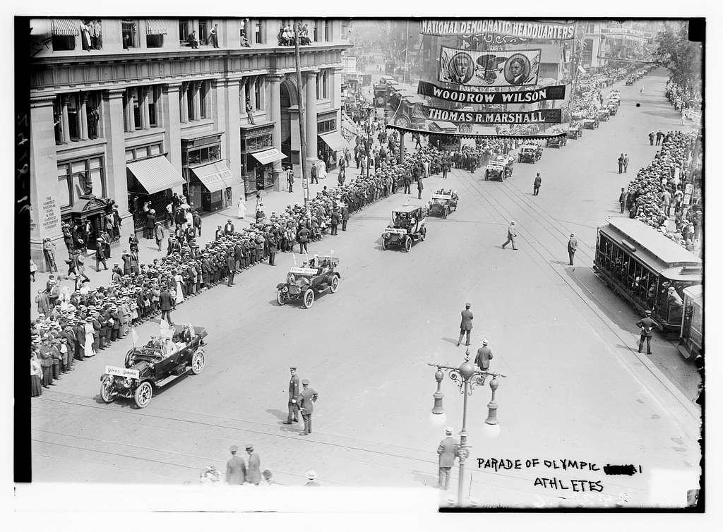 Parade of Olympic Athletes