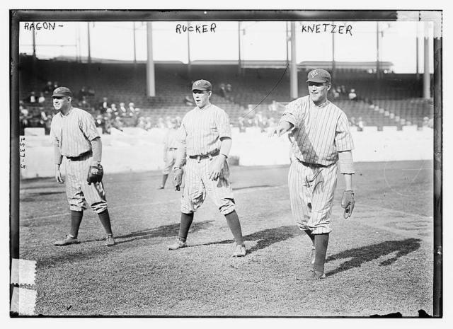 [Pat Ragan, Nap Rucker, Elmer Knetzer, Brooklyn NL (baseball)]