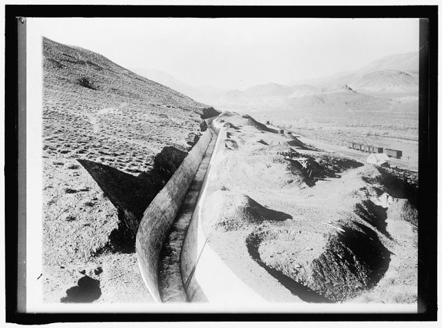 RECLAMATION, BUREAU OF. TRUCKEE-CARSON PROJECT, NEVADA; CANAL CARRYING TRUCKEE RIVER TO RESERVOIR