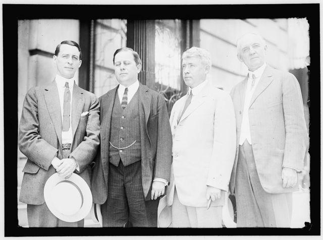 REPUBLICAN NATIONAL COMMITTEE. HENRY G. WASSON OF PENNSYLVANIA; CHARLES B. WARREN OF MICHIGAN; JOHN J. ADAMS OF IOWA; SEN. NEWELL SANDERS OF TENNESSEE